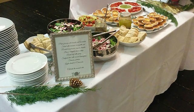 Event catering Buffet service